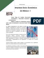 Estructura Socio-Económica de México - Tipos de Cambio Estructural y Coyuntural.