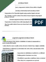 Chapter 3.2 Liquid-liquid Extraction