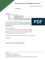 Surat Permohonan Penggantian Dosen Pembimbing Tad679429c0d8fd387a353dd1a86c20f00