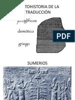 Protohistoria de La Traducción