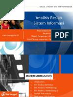 PPT UEU Analisis Resiko Sistem Informasi Pertemuan 1