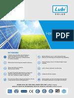 Lubi Solar Panel Description