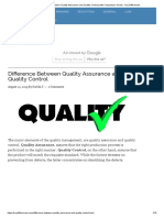 Difference Between Quality Assurance and Quality Control (With Comparison Chart) - Key Differences