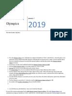 Olympics history and GK