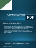 TQM - Continuous Improvement