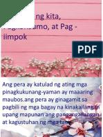 Pag iimpok