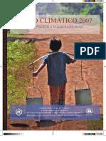 Cambio Climático 2007. (2) Impacto, Adaptación y Vulnerabilidad - 2007 (IPCC)