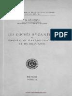 Banescu Duches byzantins