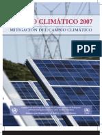 Cambio Climático 2007. (3) Mitigación del Cambio Climático - 2007 (IPCC)