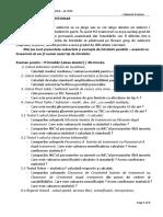 2018 Exemple Subiecte MG Examen