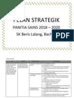 Pelan Strategik Panitia Sains 2018 (Baru)