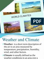 World Climates