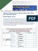 Kupdf.com Clarinet Altissimo Fingering Chart