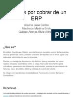 Cuentas por Cobrar de un ERP