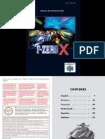Manual FZeroX 64-En