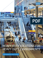 Kone Heavy Duty Escalator