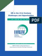 HR in 21st Century