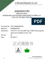 SK6805-2427 LED Datasheet.pdf