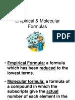 Gen-Chem-1 Empirical and -Molecular Formulas Lesson-6