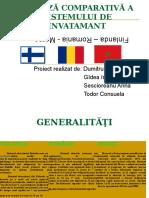 Analiza Comparativa a Sistemelor Educationale (Finlanda-Romania-Maroc)