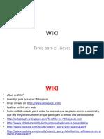 Presentacion Wiki