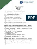 Mate.info.Ro.3585 Teza Cu Subiect Unic 2015 - Clasa a VIII-A - Ilfov - Sem I