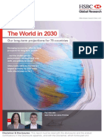 HSBC - The World in 2030 Report