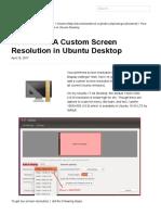 How to Set a Custom Screen Resolution in Ubuntu Desktop _ UbuntuHandbook