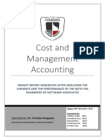 Cost Management - Software Associate Case