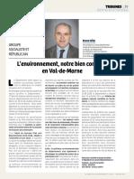 Tribune Bruno Hélin Décembre 2018