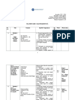 Planificare calendaristica clasa a IIIa Fairyland.doc