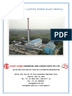 Captive Power Plant Profile