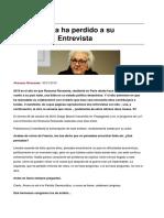 Sinpermiso-la Izquierda Ha Perdido a Su Electorado. Entrevista-2019!01!06