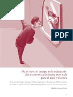 El Cuerpo en La Educación, Una Experiencia de Teatro en El Aula