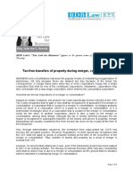 359. Tax-free transfers of property during merger, consolidation  JLA 8.30.12.pdf