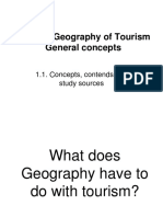 1 Geography of Tourism