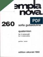Gubaidulina - Quaternion