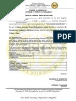 Parental Consent and Waiver Form Outreach Program