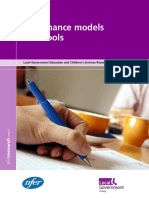 Governance Models in Schools