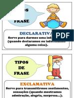 Tipos de Frase 2