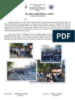 Narrative 6 Days Brigada Eskwela 2018