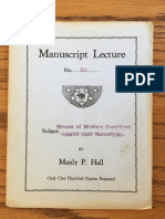 Hall, Manly P. - Manuscript Lectures No.30 - Errors of Modern Occultism.pdf