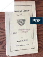 Hall, Manly P. - Manuscript Lectures No.20 - The First Principles of the Wisdom-Religion.pdf
