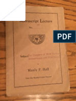 Hall, Manly P. - Manuscript Lectures No.27 - Dangers of New Thought.pdf