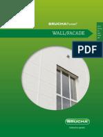 En BRUCHAPaneel Wand Fassade PIR