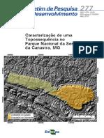 Caracterização de Uma Topossequência No Parque Nacional Da Serra Da Canastra, MG