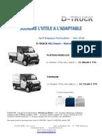 tarif aixam pro d truck  1-6-2018