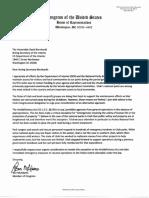 McAdams Letter (1/5/19) on National Park Shutdown Emergency