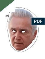 Maurice Hinchey Halloween mask