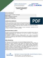 Informe Psicotécnico - Santiago Raselli